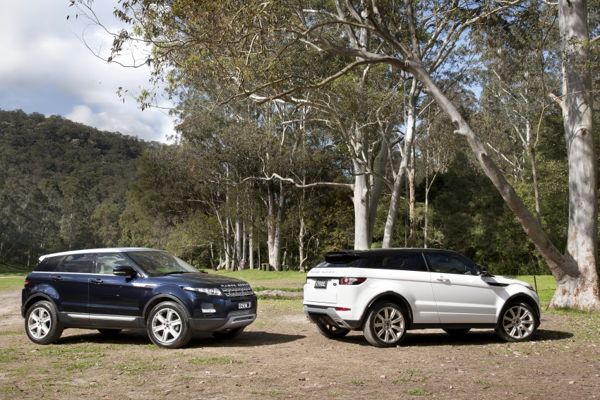 Range Rover Evoque Test Drive Review in Sydney Image #77307