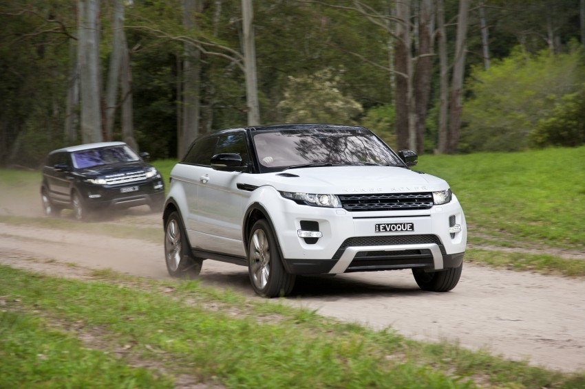 Range Rover Evoque Test Drive Review in Sydney Image #77308