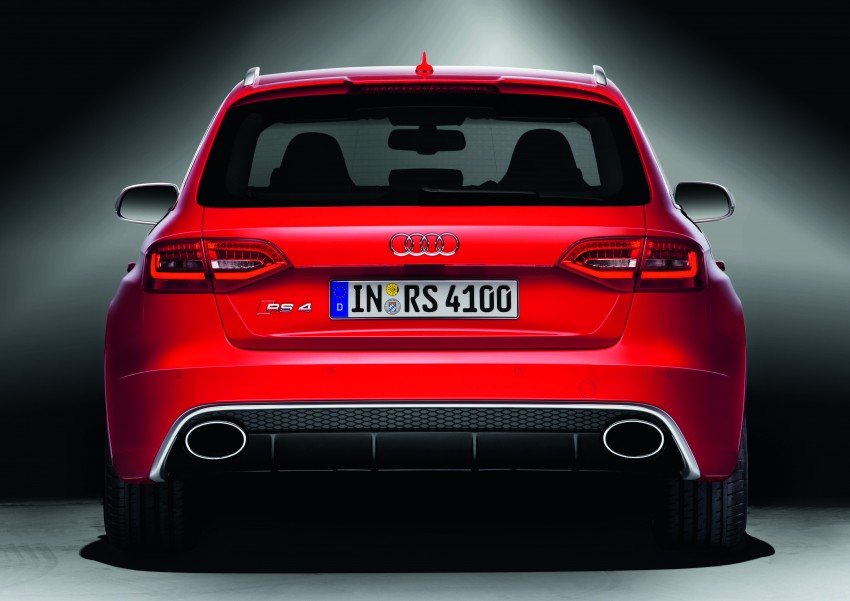 Audi RS4 Avant – a 450 hp wagon wet dream Image #122769