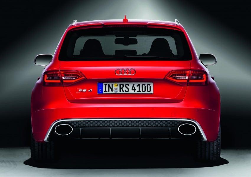 Audi RS4 Avant – a 450 hp wagon wet dream Image #122769