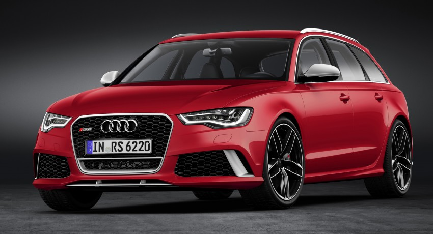 Audi RS 6 Avant – 560 PS, 0-100 km/h in 3.9 seconds Image #144443