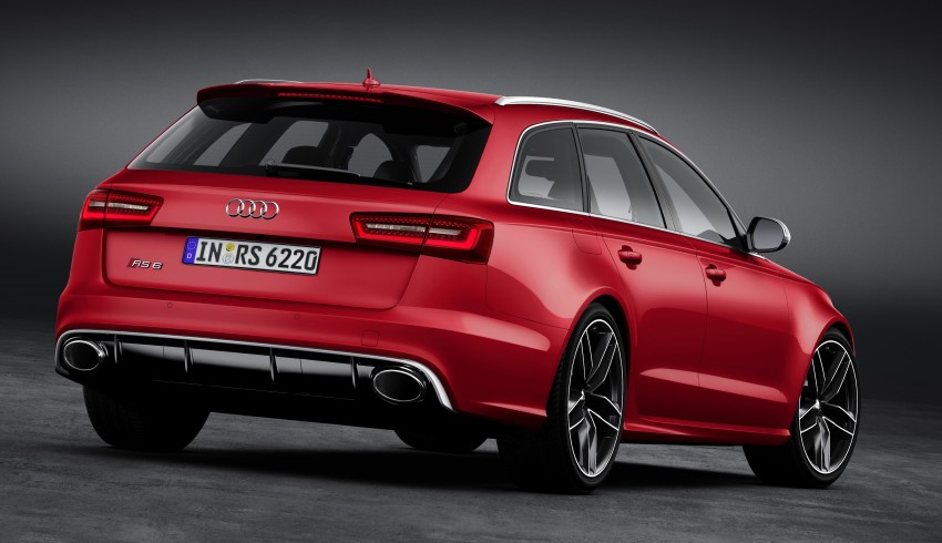 Audi RS 6 Avant – 560 PS, 0-100 km/h in 3.9 seconds Image #144436
