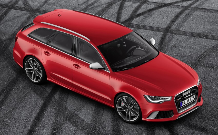 Audi RS 6 Avant – 560 PS, 0-100 km/h in 3.9 seconds Image #144435