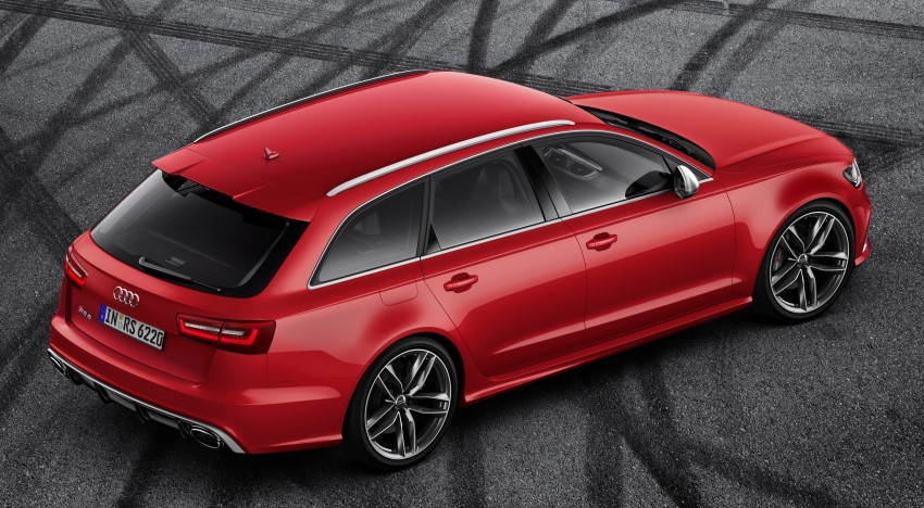 Audi RS 6 Avant – 560 PS, 0-100 km/h in 3.9 seconds Image #144440