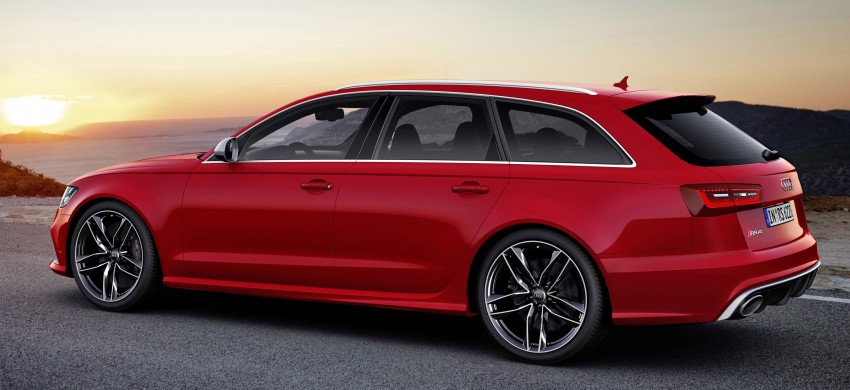 Audi RS 6 Avant – 560 PS, 0-100 km/h in 3.9 seconds Image #144441