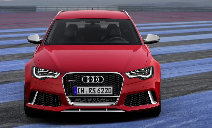 Audi RS 6 Avant – 560 PS, 0-100 km/h in 3.9 seconds Image #144442
