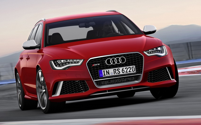 Audi RS 6 Avant – 560 PS, 0-100 km/h in 3.9 seconds Image #144447
