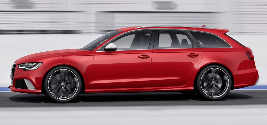 Audi RS 6 Avant – 560 PS, 0-100 km/h in 3.9 seconds Image #144448