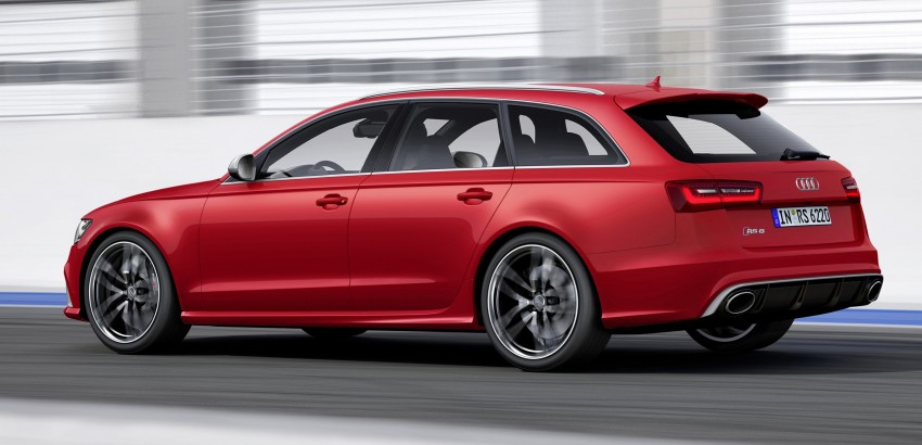 Audi RS 6 Avant – 560 PS, 0-100 km/h in 3.9 seconds Image #144446