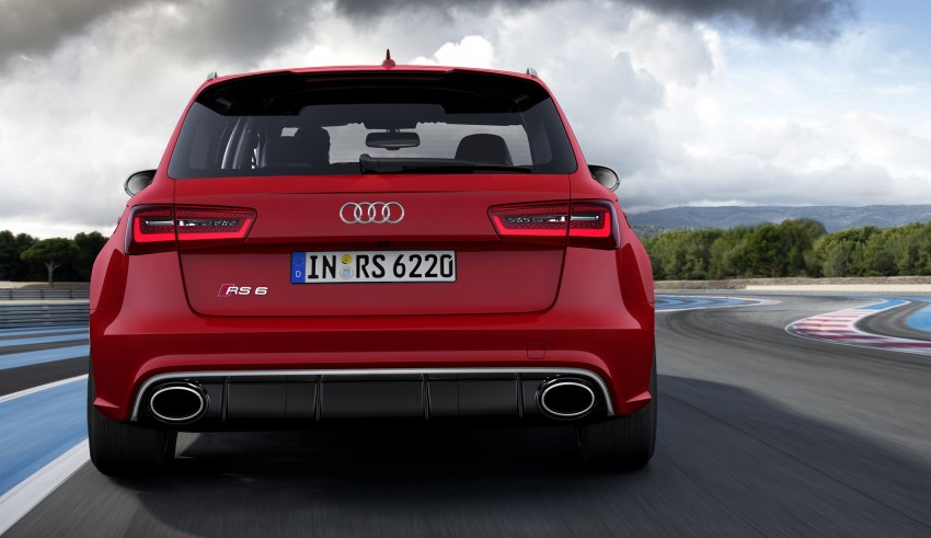 Audi RS 6 Avant – 560 PS, 0-100 km/h in 3.9 seconds Image #144433