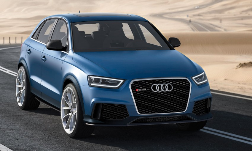 Audi RS Q3 concept to break cover in Beijing Motor Show Image #101347