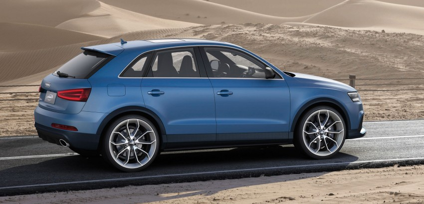 Audi RS Q3 concept to break cover in Beijing Motor Show Image #101348