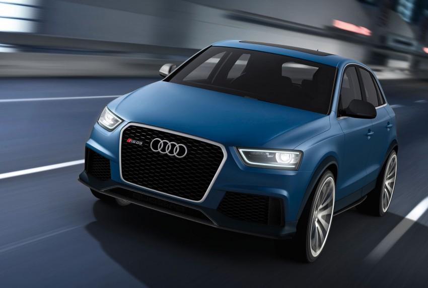 Audi RS Q3 concept to break cover in Beijing Motor Show Image #101350