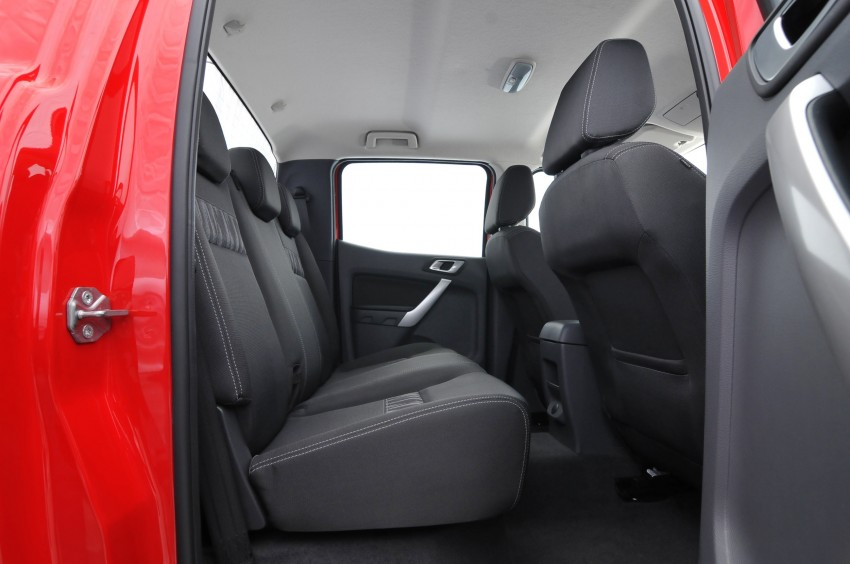 Rear Legroom Space