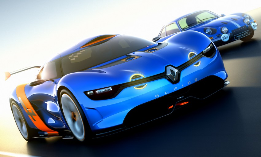Renault Alpine A110-50 – a homage to the Berlinette Image #109088