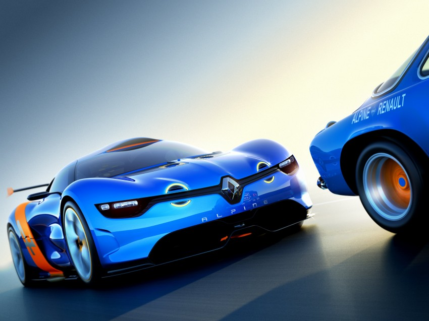 Renault Alpine A110-50 – a homage to the Berlinette Image #109089