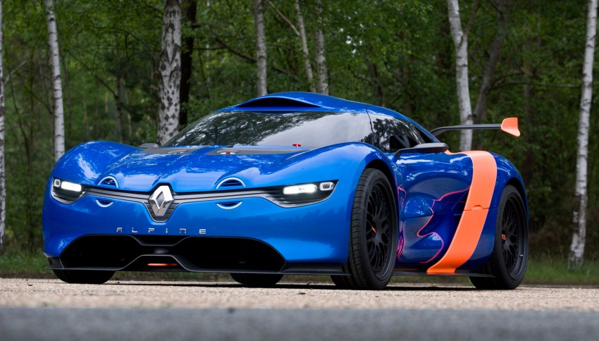Renault Alpine A110-50 – a homage to the Berlinette Image #109085