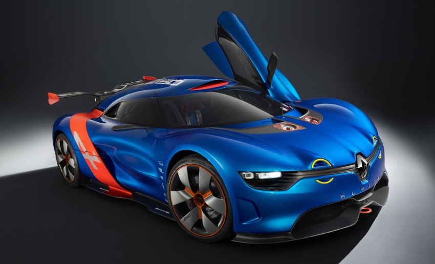 Renault Alpine A110-50 – a homage to the Berlinette Image #109092