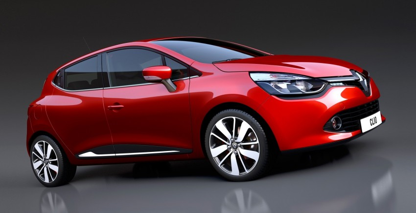 Renault Clio – fourth-generation hatch breaks cover Image #116024