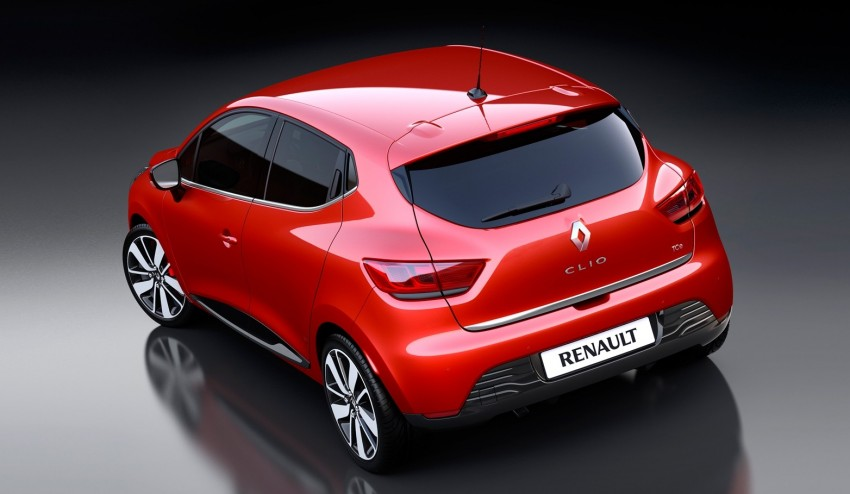 Renault Clio – fourth-generation hatch breaks cover Image #116025
