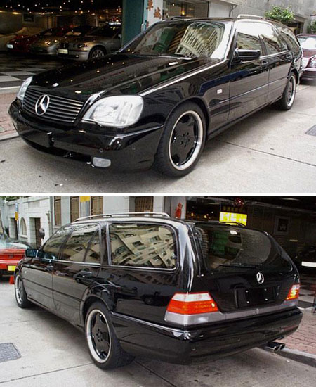 The Sultan Of Brunei's Mercedes-Benz S73 T AMG