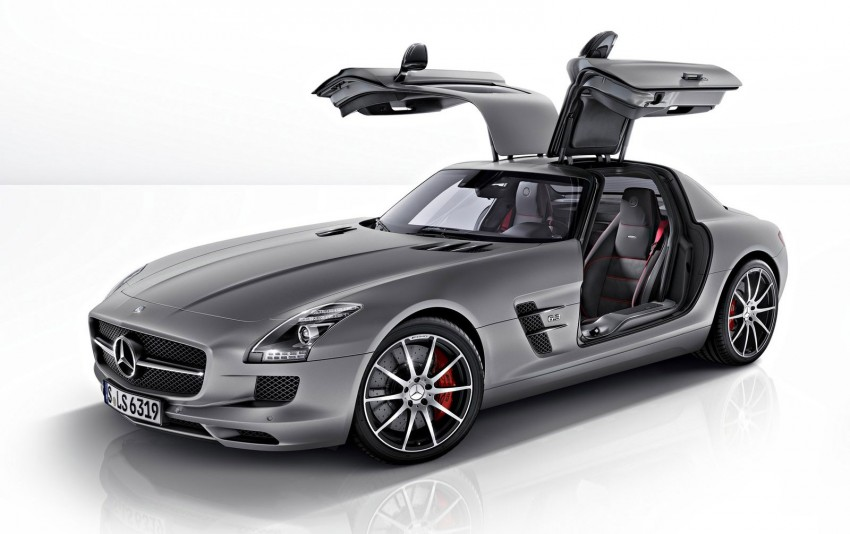 Mercedes-Benz SLS AMG GT – more power, faster gearbox, new 'Performance' suspension Image #110584