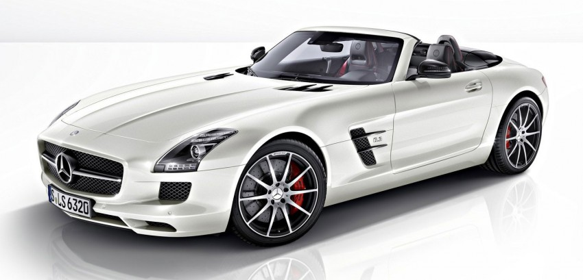 Mercedes-Benz SLS AMG GT – more power, faster gearbox, new 'Performance' suspension Image #110585
