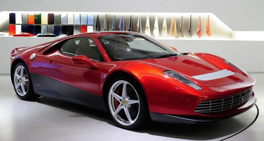 Ferrari SP12 EC – Eric Clapton's one-off is a 458 Italia with styling inspired by the 512 BB Image #109283