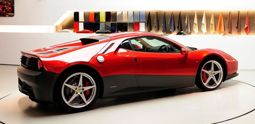 Ferrari SP12 EC – Eric Clapton's one-off is a 458 Italia with styling inspired by the 512 BB Image #109284