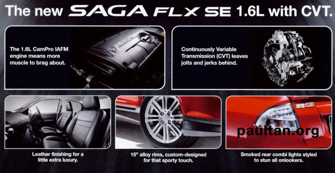 COMING SOON! Proton Saga FLX SE 1.6L with CVT leaked Paul ...