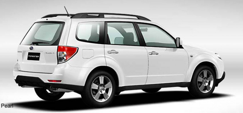 2012 Subaru Forester pricing revised in Malaysia Image #116981