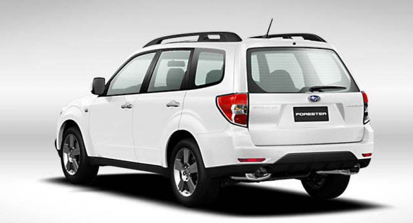 2012 Subaru Forester pricing revised in Malaysia Image #116982