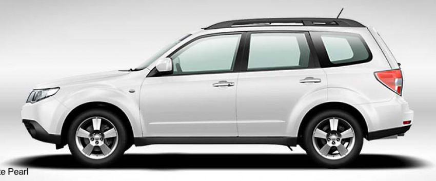 2012 Subaru Forester pricing revised in Malaysia Image #116983