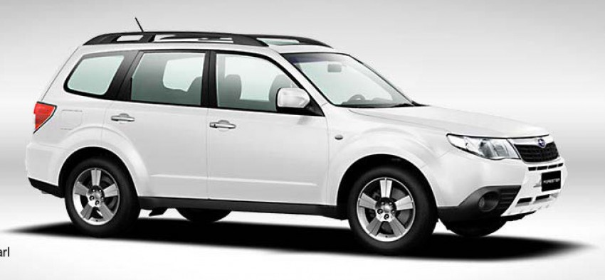 2012 Subaru Forester pricing revised in Malaysia Image #116984