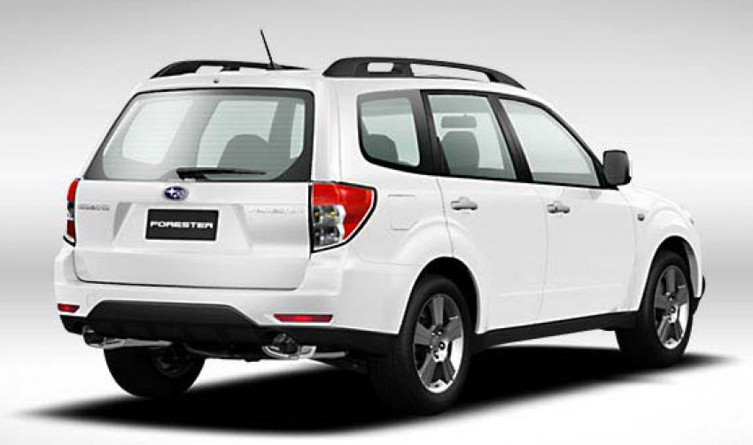 2012 Subaru Forester pricing revised in Malaysia Image #116985