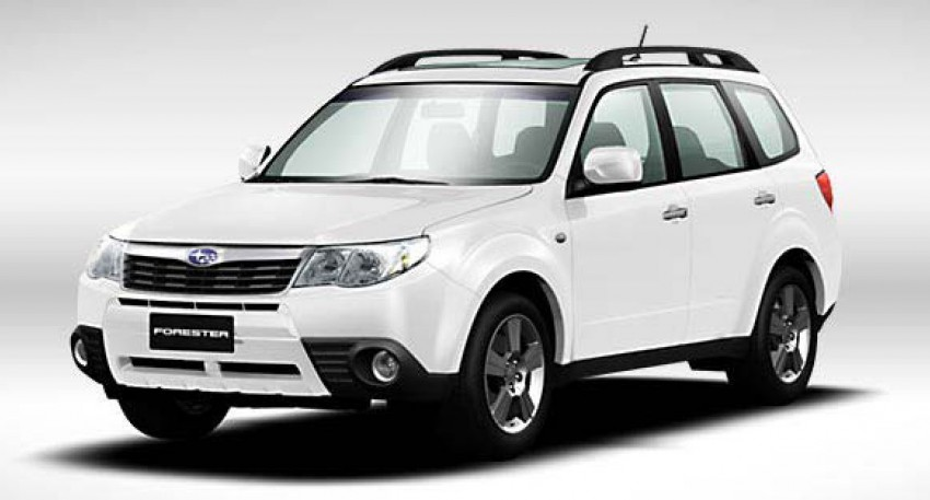 2012 Subaru Forester pricing revised in Malaysia Image #116986