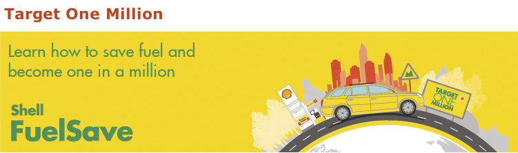 Shell Target One Million aims to educate a million people on how to drive fuel efficiently Image #118072