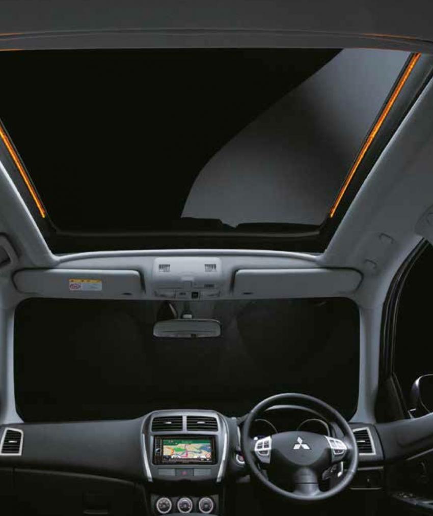 Mitsubishi ASX Euro: limited to 200 units, RM145k Image #125441