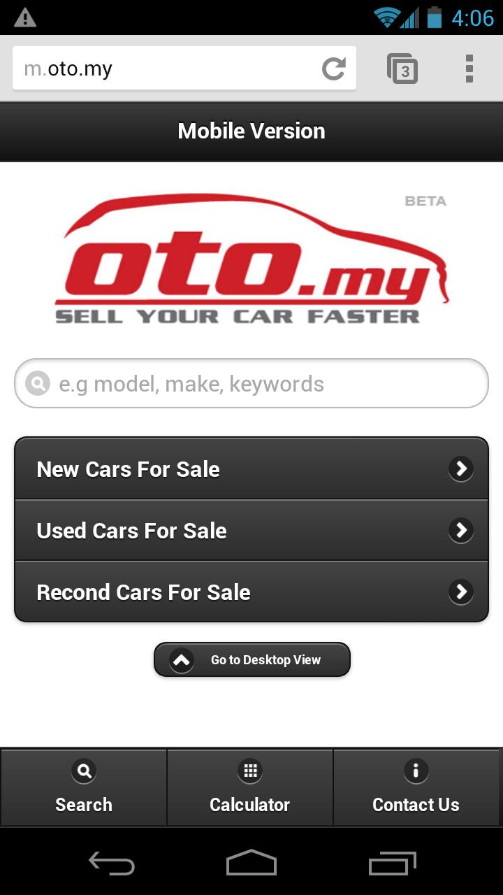 Oto My Car Loan Calculator