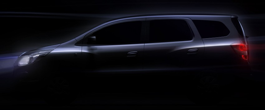 2013 Chevrolet Spin MPV to be built in Indonesia Image #112521