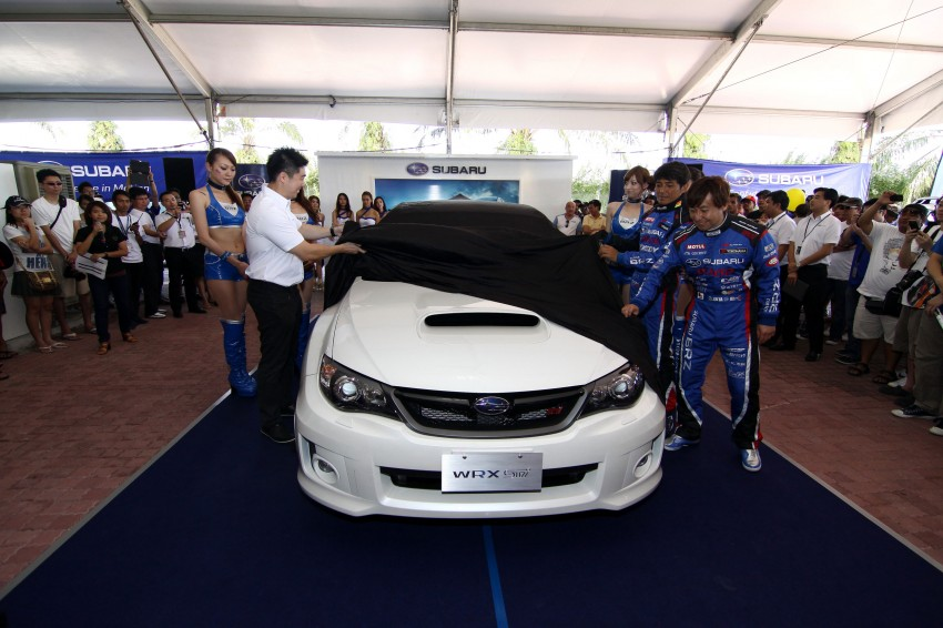 Subaru WRX STI launched – from RM249k OTR Image #112107