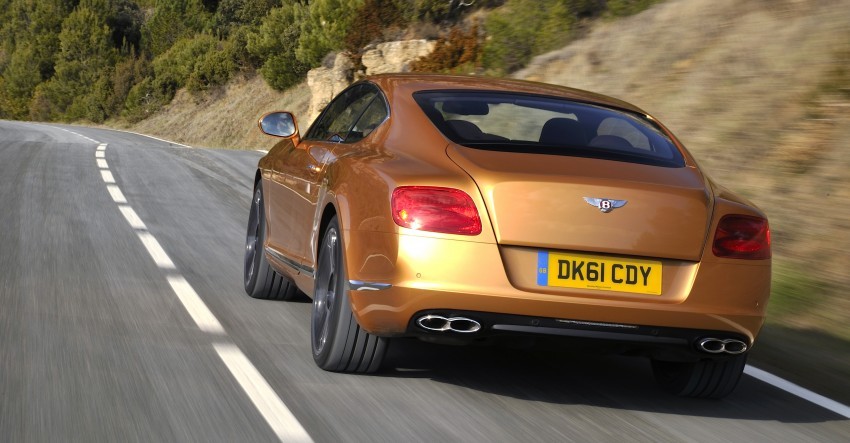 Bentley Continental GT V8 and GTC arrives in Malaysia Image #110057
