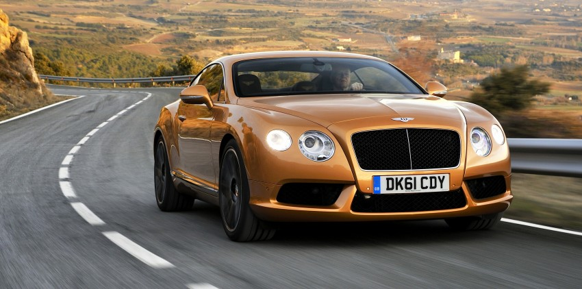 Bentley Continental GT V8 and GTC arrives in Malaysia Image #110053
