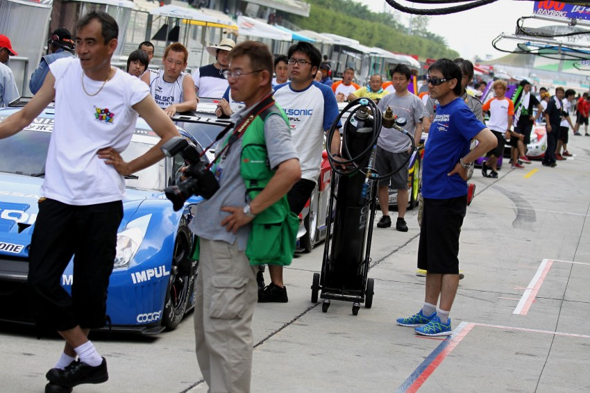 Autobacs Super GT 2012 Round 3: Friday Gallery Image #111013
