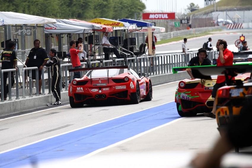 Autobacs Super GT 2012 Round 3: Friday Gallery Image #111023