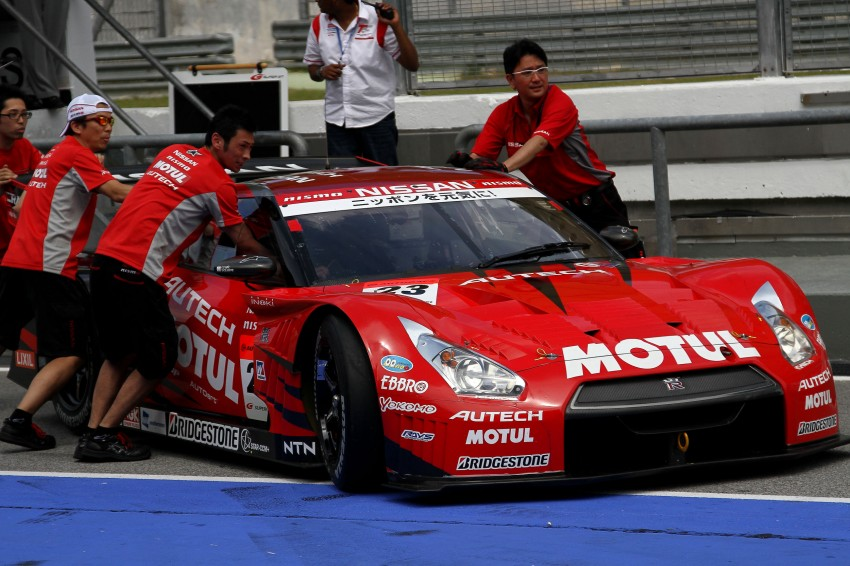 Autobacs Super GT 2012 Round 3: Friday Gallery Image #111030