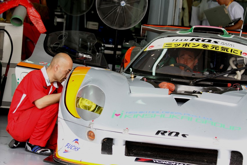 Autobacs Super GT 2012 Rd 3: Scenes before the race Image #111529