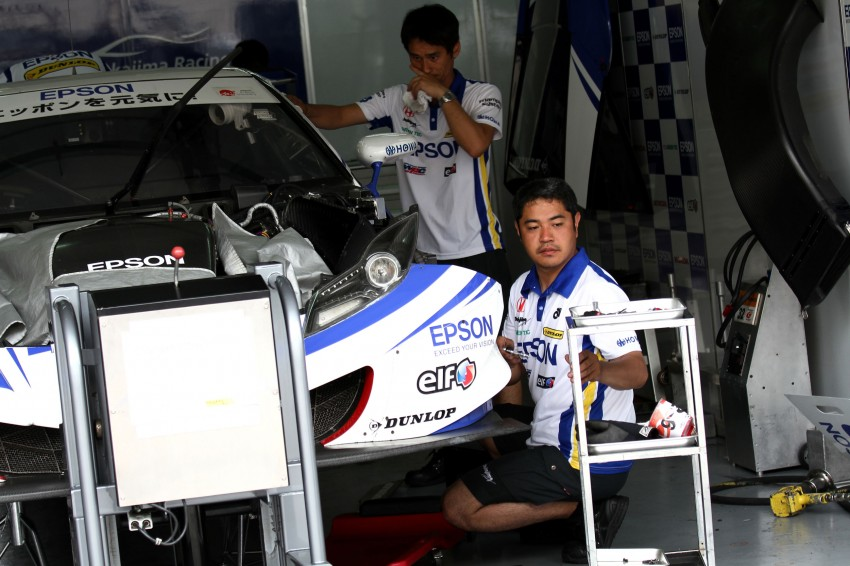 Autobacs Super GT 2012 Rd 3: Scenes before the race Image #111532