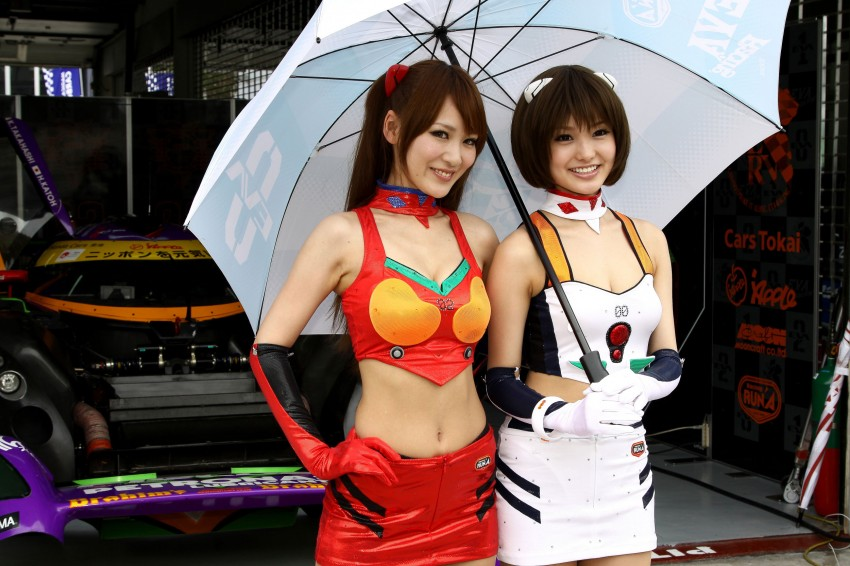 Super GT 2012 Rd 3: Of booth babes and race queens Image #112085