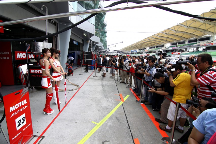 Autobacs Super GT 2012 Rd 3: Scenes before the race Image #111538
